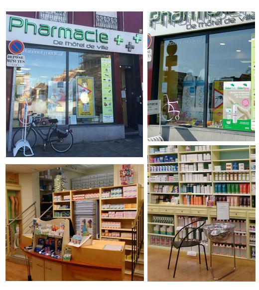 O nous trouver pharmacie de l 39 h tel de ville for Pharmacie de la piscine